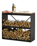 OFYR Wood storage Dressoir Black
