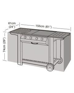 Garland barbecuehoes buitenkeuken 155 zilver