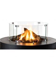 Glazen ombouw voor Cocoon Table Rond