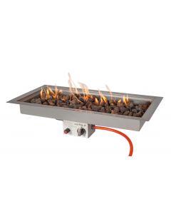 Easy Fires inbouwbrander rechthoek