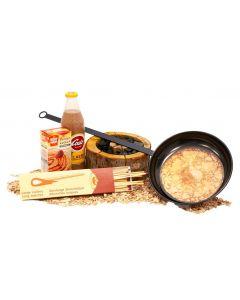 Kerstpakket Winterpret (Eco Grill - pannenkoekenpan - Chocomel)