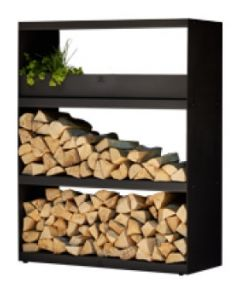 OFYR Wood storage Cabinet Black