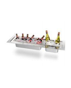 Inbouw wijnkoeler rechthoek groot