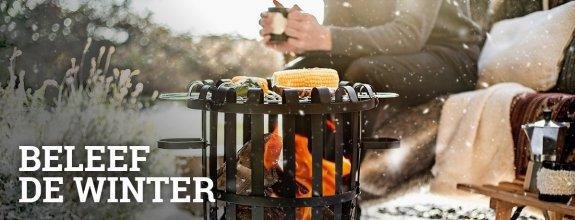 Beleef de winter met Vuurkorfwinkel.nl