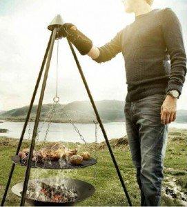 Barbecook Junko driepoot sfeer