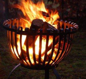 Esschert vuurkorf Tulp