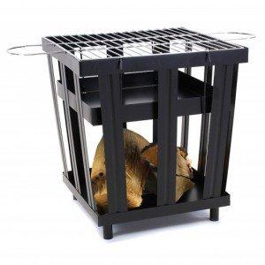 2L Home and garden vuurkorf cube BBQ XL