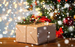 Kerstpakket-vuurkorf