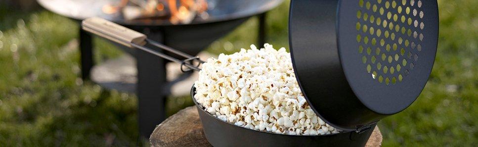 Popcornpan voor buiten kopen? Bestel bij Vuurkorfwinkel.nl