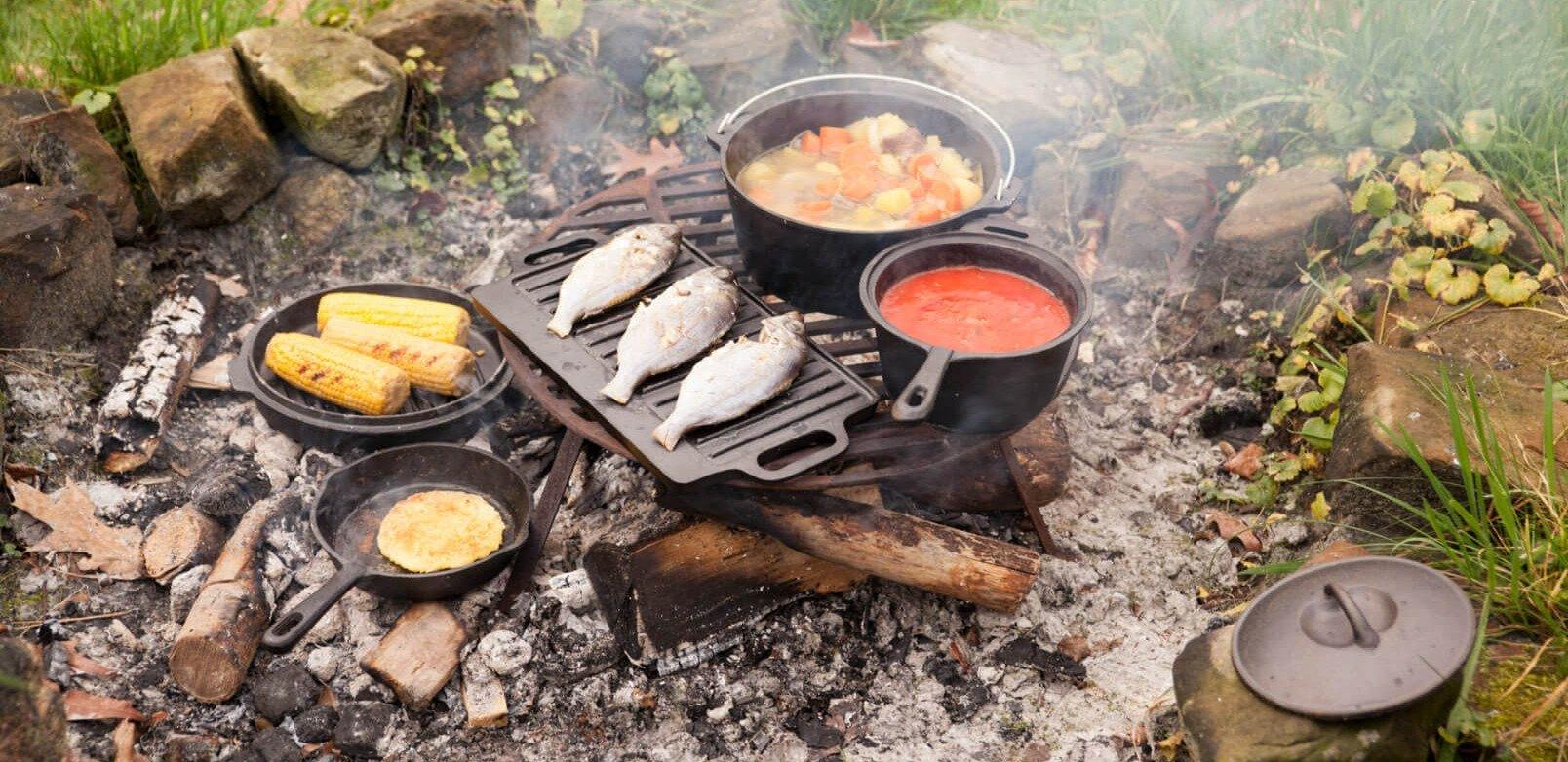 Wonderbaarlijk Buiten koken? | Shop makkelijk en snel bij Vuurkorfwinkel.nl WJ-26