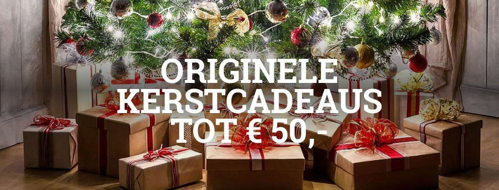 Kerstcadeau's tot 50,00 Vuurkorfwinkel.nl